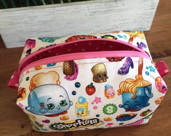 Shopkins large zipper pouch