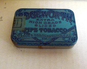 Small Edgeworth Tobacco Tin