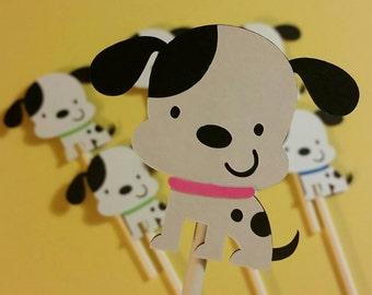 12 Adorable Dalmatian Cupcake Toppers