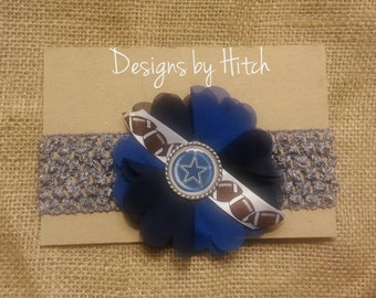 Dallas Cowboys Baby/Toddler Headband