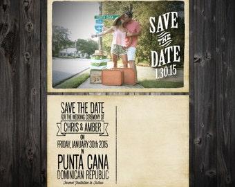 Destination Save the Date Postcards (100)