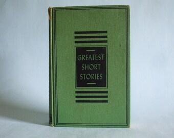 Greatest Short Stories Volume IV, Foreign 1953 Vintage Hardback