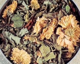 Lemon Mint Herbal Tea - herbal tea - dried herbs - caffeine free - organic herbs -