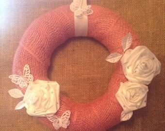 Pretty in pink ,decorative Wreath