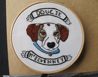 Custom pet portrait, Custom hand embroidery, pet embroidery, animal embroidery, custom embroidery, dog embroidery, pets, 10% donation