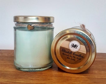 Lime Cooler - Handmade Eco Soy Scented Jar Candle