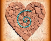 "Sedona Love Notes ""Heart Vortex"" Greeting Card (blank)"