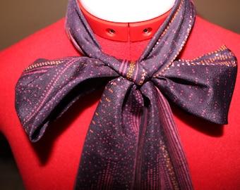 1970s Large Necktie Scarf