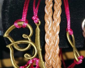 Friendship Charm Bracelet Infinity Iffle Tower