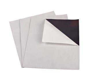 """8"""" x 10"""" 60 mil Adhesive Magnet Sheets - 5 Pack - Thick Magnet"""