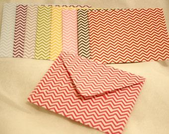 Handmade Envelopes - All Chevron