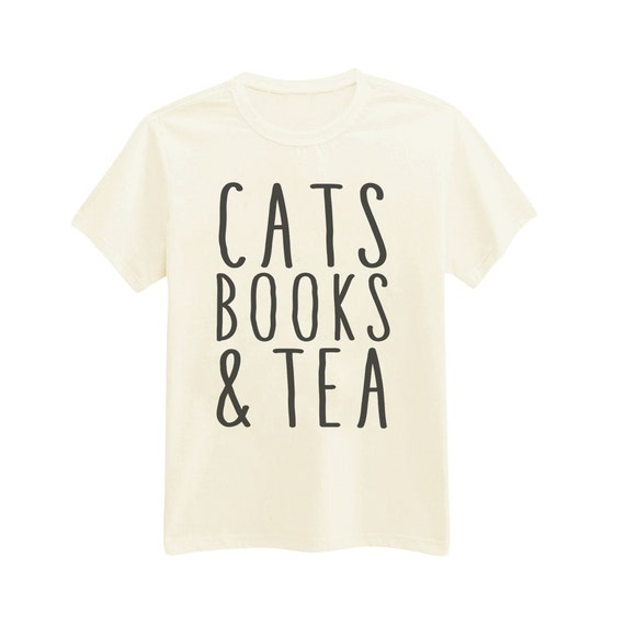 Items Similar To 543 Cats Books Tea Perfect Day