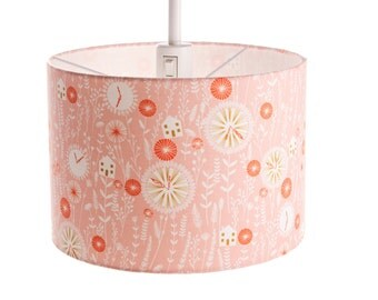 large cute pink lampshade for nursery room floor drum lampshade 30 cm x - Large Lamp Shades