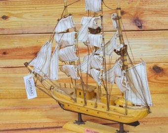 "MayFlower Wood Boat 12""   Box 351"