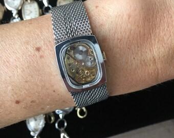 Women's Steampunk Vintage Watch Gear BRACELET
