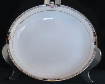 Noritake Porcelain Soup Bowl in the Beechport Pattern