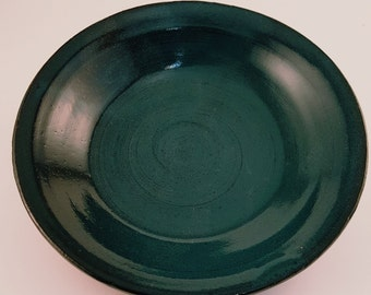 Handmade Wheel Thrown Pottery Small Plate