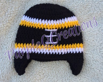 Football Fan Beanie / Photo Prop