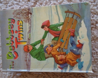 The Bobbsey Twins Merry Days Inside & Out 1950 by Laura Lee Hope