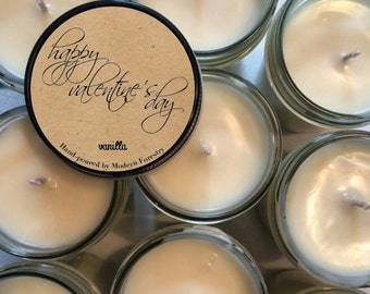 Valentine's Day Soy Candle, Modern Forestry™ Hand-Poured in Greenville, SC