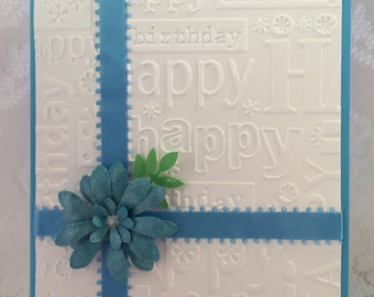 Birthday, Handmade, Greeting Card, Envelope included
