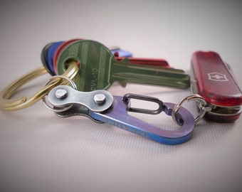 Carabiner Titanium / Bike-link / Medium