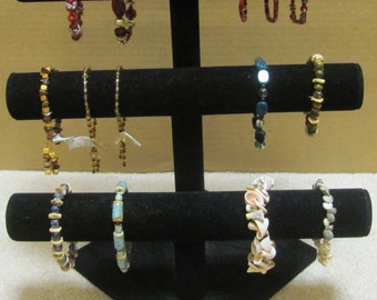 Handmade Jewelry and earrings, various colors and styles