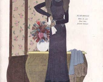 PDF Reproduction - 1932 November 1 - Modes & Travaux  - Vintage French Fashion Book