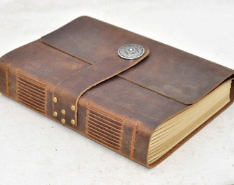 Leather Journal Personalized Travel Journal Wedding Journal Diary