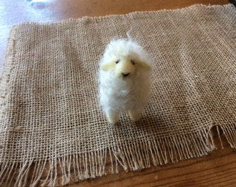 Needle Felted Small Sheep