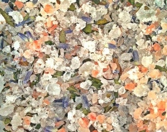 Bath Salt- Bath Salts- Natural Bath Salts- Bath Soak- Bath Tea Bags- Herbal Bath Tea- Essential Oil- Lavender Mint