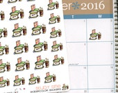 "25 Stickers ""Study Time"" perfect for Life Planners (Erin Condren, Kikki.k, Filofax, etc) or Scrapbooking"