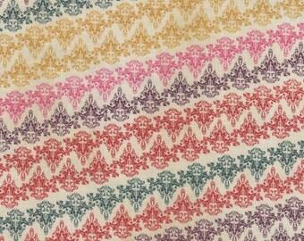 Multicolor Victorian Paisley - 100% Cotton
