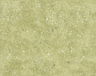 Light Green Speckle- South Sea Imports- 100% Cotton Quilting Fabric