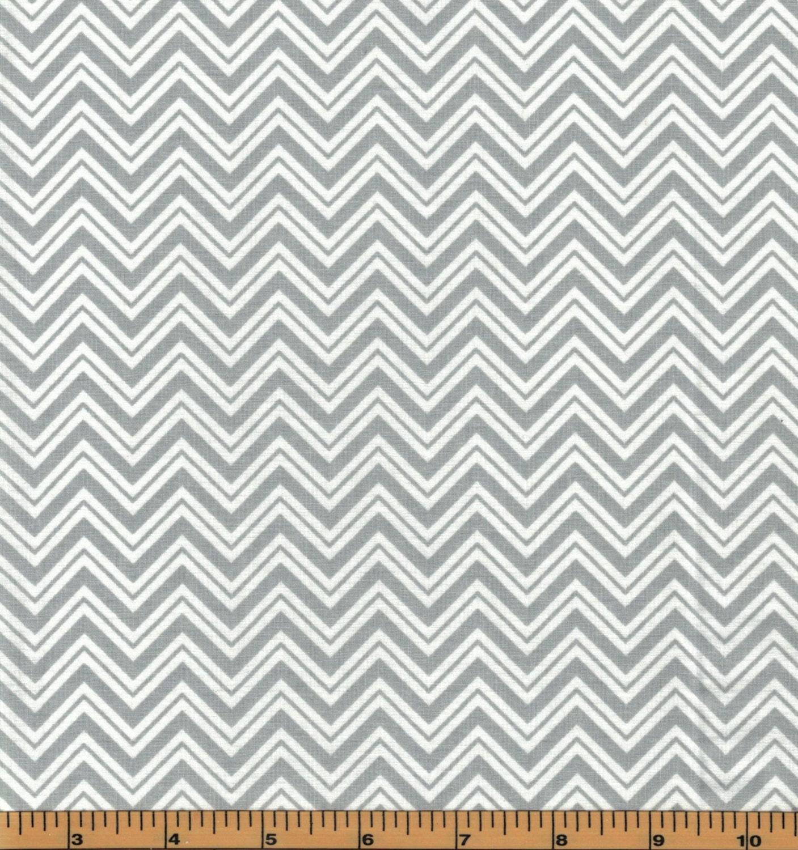 Gray chevron urban zoo collection by galaxy fabrics 100 for Galaxy fabric canada