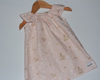 Seaside Dress Pretty Birds Size 1
