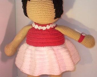 Faceless doll / Crochet doll 18inch
