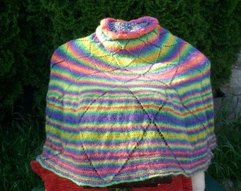 Happy Poncho, Multicolor, Warm