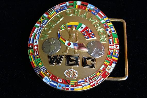 Wbc Championship Belt Bracelet Jewelry
