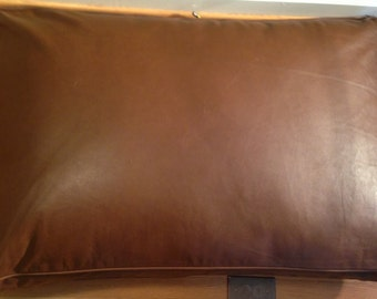 Rectangle Leather Dog Bed