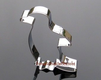 Penguin Cookie Cutter- Stainless Steel - USA FREE Shipping