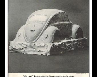 "Vintage Print Ad May 1969 : Volkswagen Bug Cars Automobile Wall Art Decor 8.5"" x 11"" Advertisement"