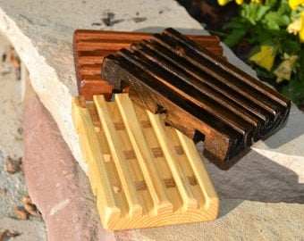 Wooden Soap Savers made from Reclaimed Wood.