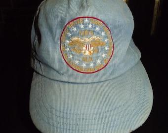 Vintage NRA Corduroy Hat 200 th Anniversary 1975