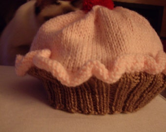 Cupcake hat Infant