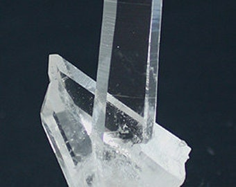 Water-clear Quartz crystal cluster, Arkansas - Mineral Specimen for Sale