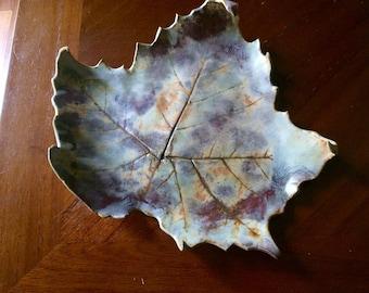 Fall Leaf Plate