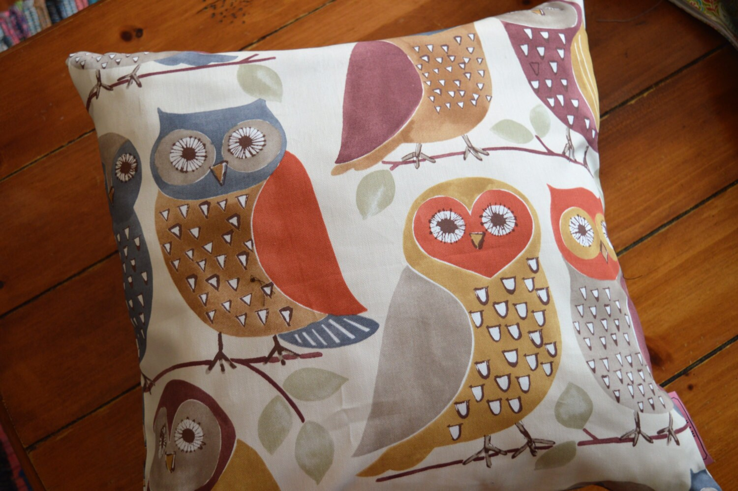 Owl Throw Pillow Etsy : Owl Throw Pillow
