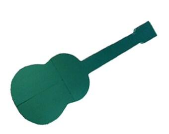 """Guitar  Floral Foam 36"""" X 14"""""""