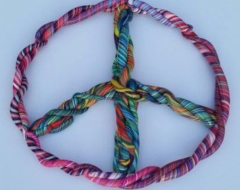 Polymer Clay Peace Sign